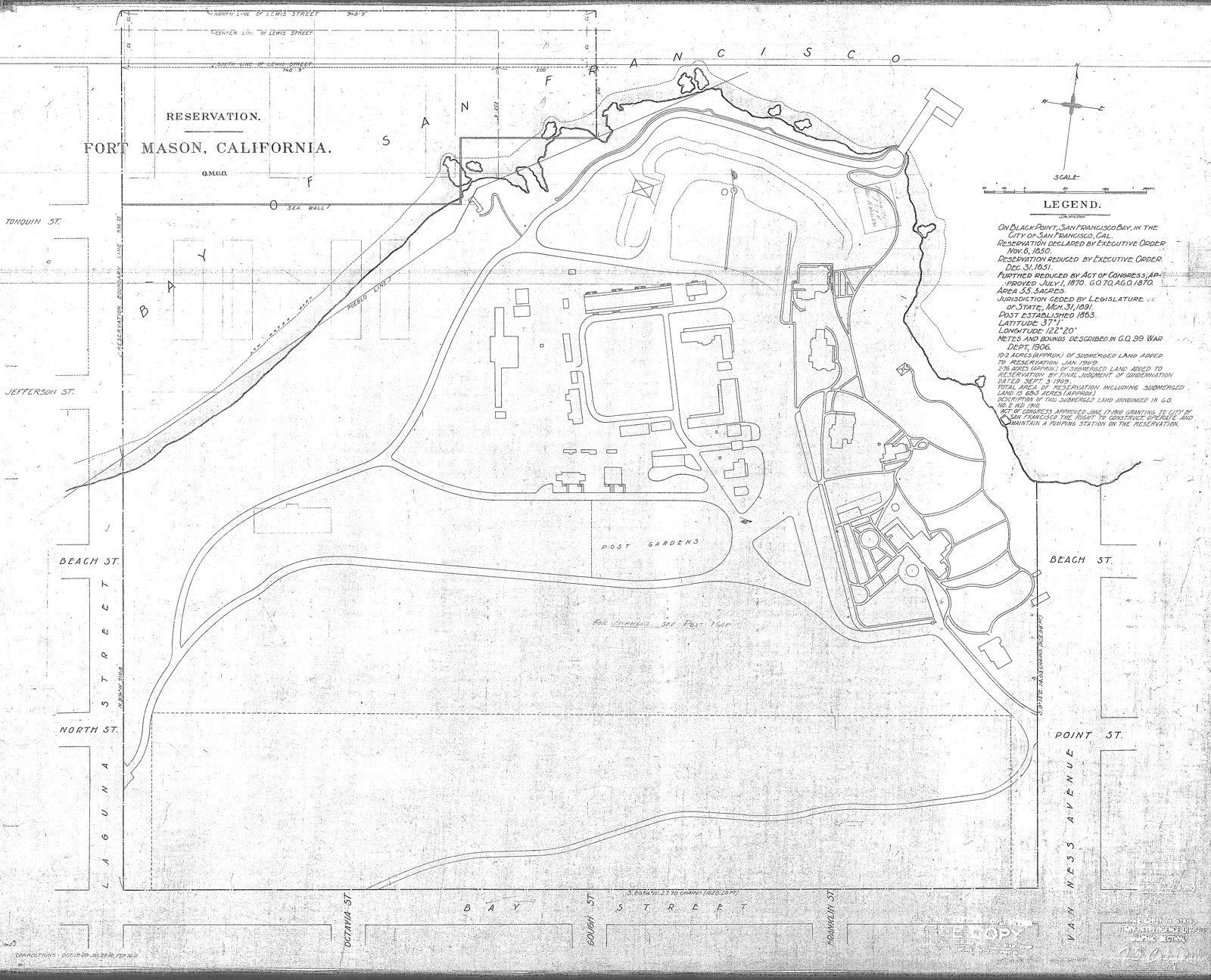 1912 reservation map click the map to view a larger clearer image