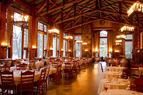 The Main Dining Room Today.